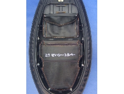 【誠都牌】BRH 高質感 卡夢紋 機車座墊/置物袋組/G5 新悍將 雷霆王 jet