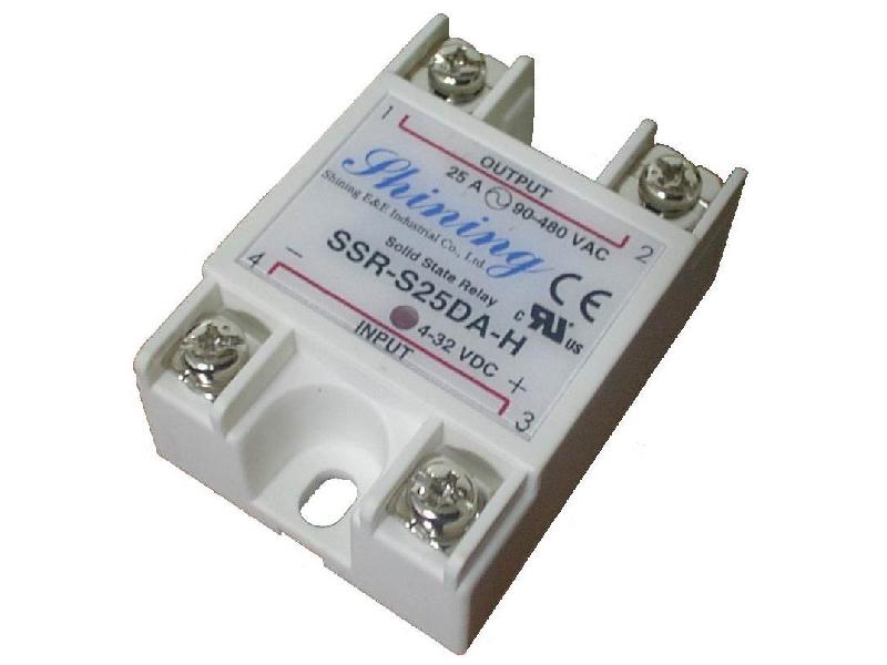 單相固態繼電器 Solid State Relay SSR-S25DA-H