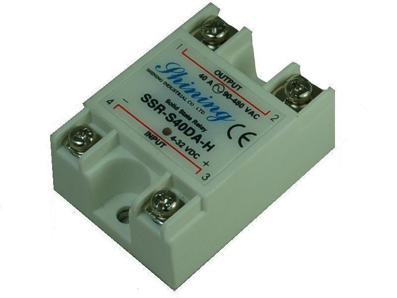 單相固態繼電器 Solid State Relay SSR-S40DA-H