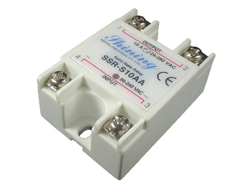單相固態繼電器 Solid State Relay SSR-S10AA