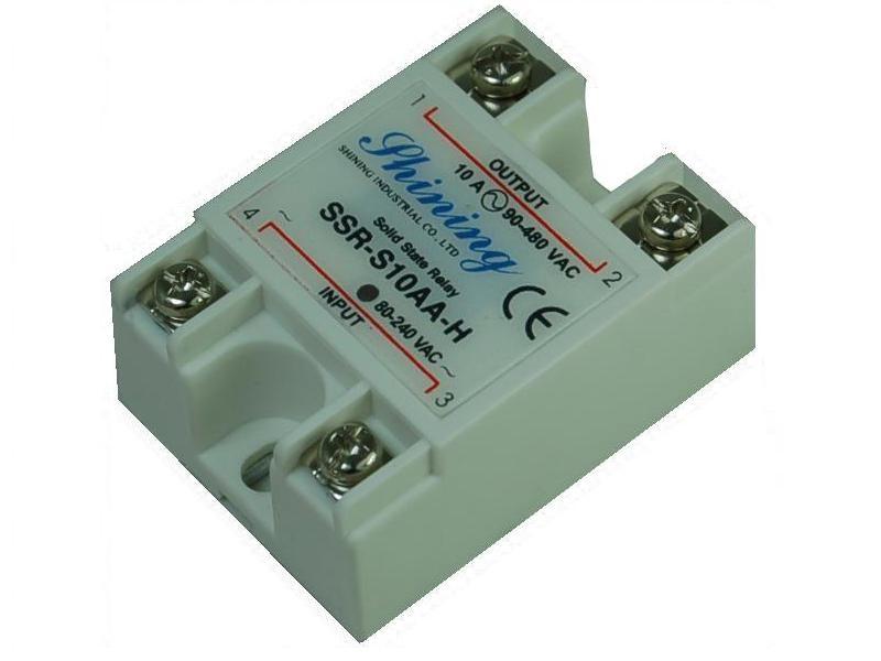 單相固態繼電器 Solid State Relay SSR-S10AA-H