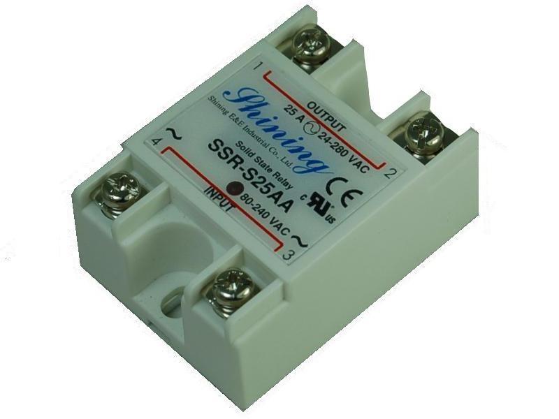 單相固態繼電器 Solid State Relay SSR-S25AA
