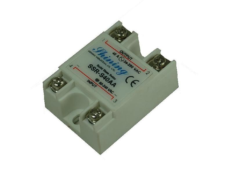 單相固態繼電器 Solid State Relay SSR-S40AA