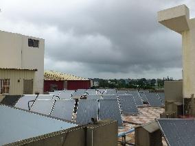 太陽能飯店熱水工程
