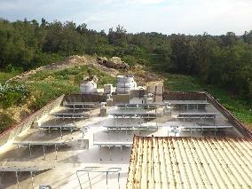 金門飯店太陽能熱水系統