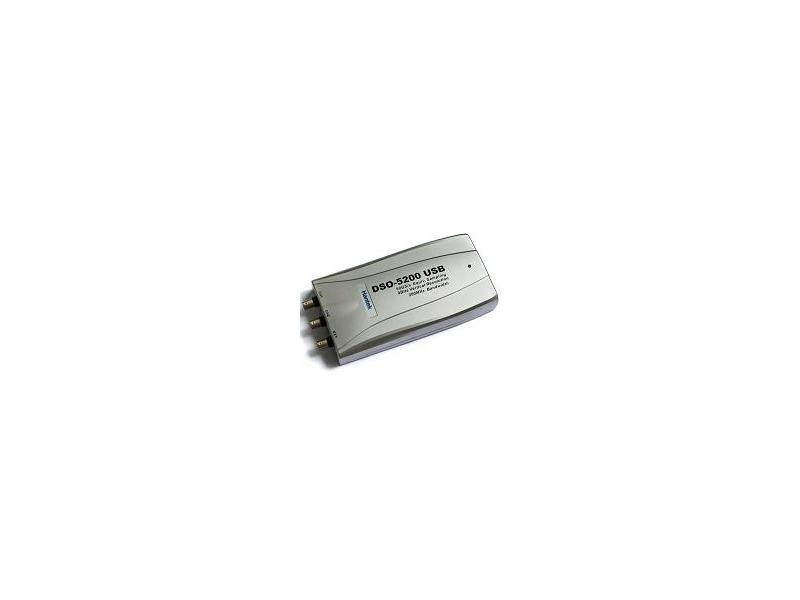 【才嘉科技】 DSO-5200  200MHz 頻寬,50G等效採樣 USB虛擬示波器(H
