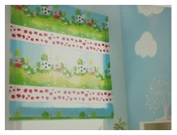 高雄窗簾.超可愛的卡通圖案兒童房窗簾