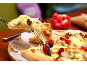 卡士達新鮮水果pizza