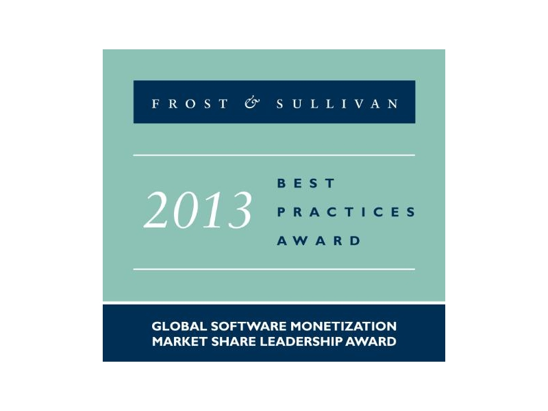 Frost & Sullivan 授予 SafeNet 軟體貨幣化全球市場領導者獎項