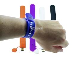 FB300 軟性手環碟 可印刷LOGO 客製化隨身碟工廠