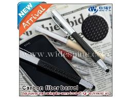 電容觸控碳纖維筆 iT09 萬用觸控筆、使用德國進口施奈德筆芯
