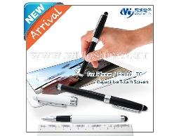 電容式觸控鋼珠筆 萬用電容式觸控筆,採用德國施奈德鋼珠筆芯