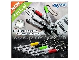 CT05 晶鑽吊飾觸控筆 MIT台灣設計、電容式短款迷你觸控筆、多色可選