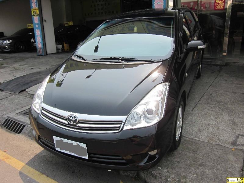 Toyota Wish 2008年 頂級款 無泡水 原廠保養證明 第三方認證車 保固一年
