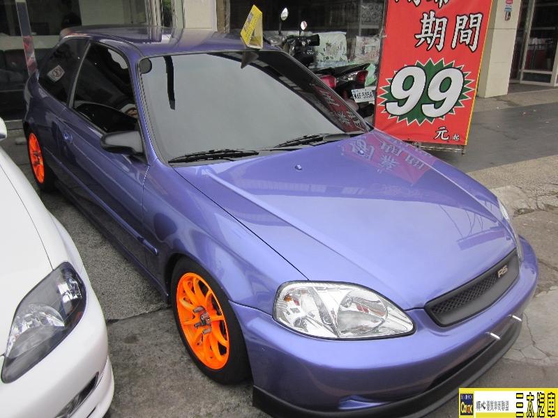 本田 HONDA 3門 CV3 2000年 原廠手排車 可分期 歡迎預約看車試乘! 車況讚