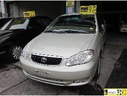 TOYOTA 豐田 ALTIS 2002年款 保固一年 引擎 可全額貸 可刷卡 省油代步