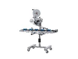 自動貼標機-自動上貼貼標機 NLT-300 Automatic Top Labeler