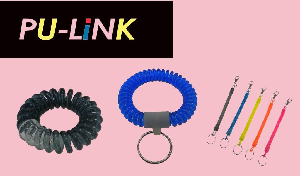 伸縮髮束-手環(粗)-鑰匙圈
