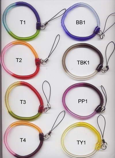3色伸縮手環(細)