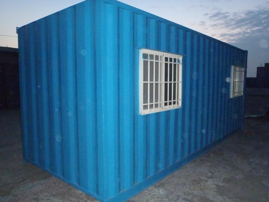 20呎鐵櫃+二窗一門一冷氣架.內部裝潢