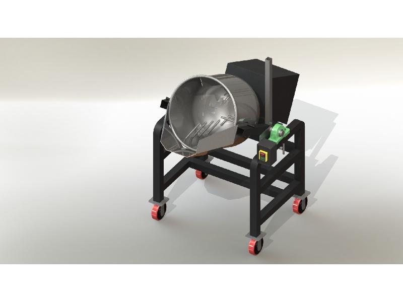 專業食品機械~炒食機、混合機、攪拌機、滾筒攪拌機、專業製造荃營企業