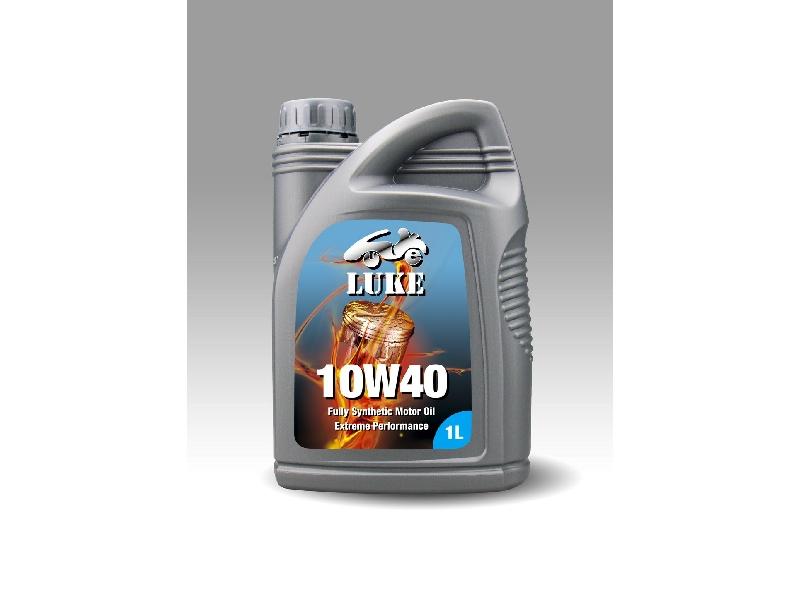 LUKE 10W40高科技PDC元素使油膜更強韌、超潤滑,低硫優質性可使用於汽、柴油/共軌