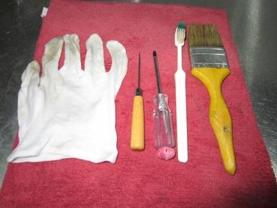 清潔廚房用品的小工具