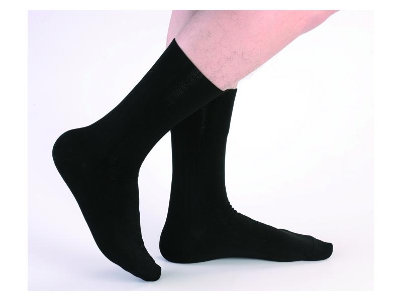 高科技複合新纖維 防臭紳士襪(黑)