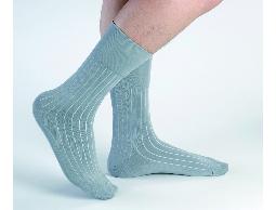 高科技複合新纖維 防臭紳士襪(灰)