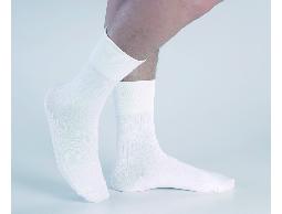 高科技複合新纖維 防臭紳士襪(白)