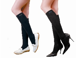 高科技複合新纖維 機能健康襪(黑)