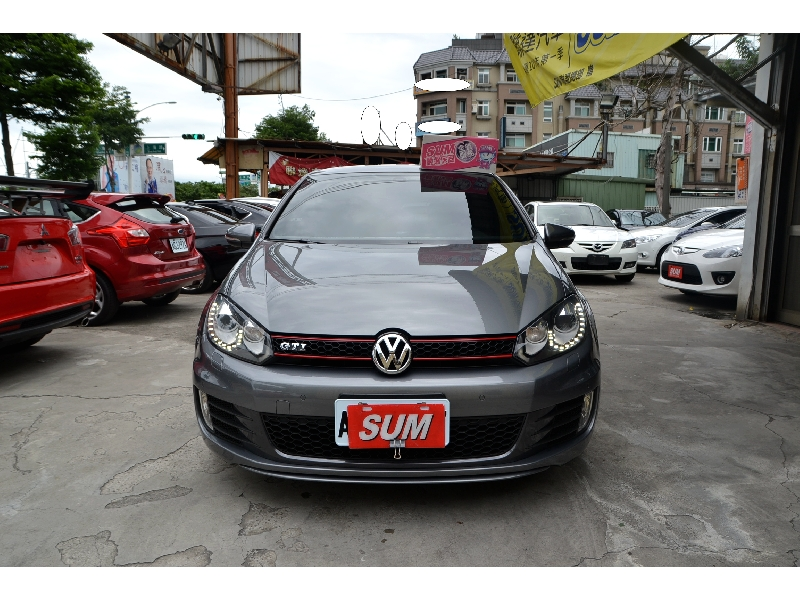 2011 Volkswagen Golf GTI 灰色