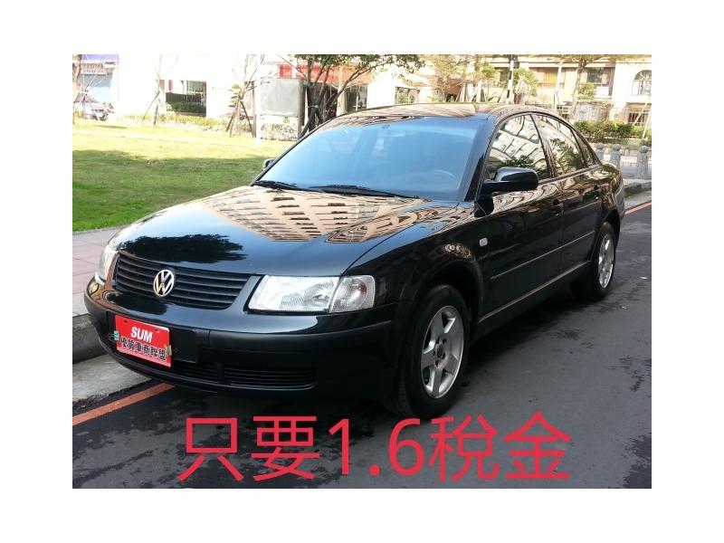 VW PASSAT一手車 看過來,我最便宜 2000年3月領牌1.8TURBO