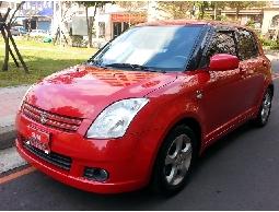 SUM 鴻宇汽車SUZUKI SWIFT 頂級I-KEY恆溫空調.前後雷達.雙安.ABS