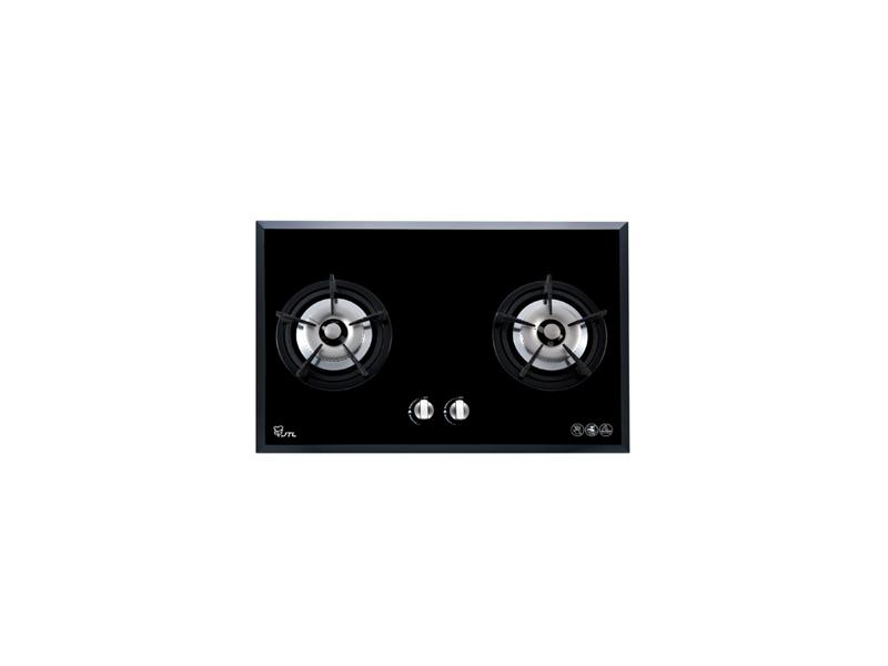 (祥益廚具)喜特麗 JT-2203A ☆歐化檯面式☆強化玻璃雙口瓦斯爐☆智慧型IC一點靈