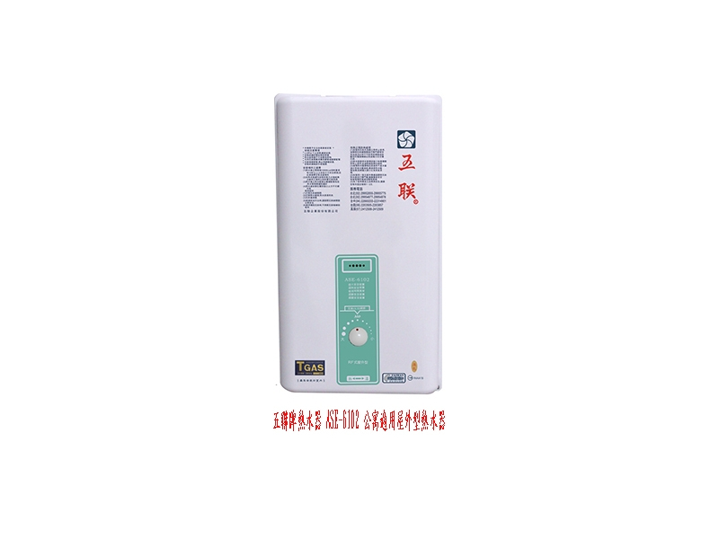 (YOYA)五聯牌熱水器 ASE-6102 公寓適用屋外型熱水器銅製水盤抗風抗雨☆送安裝☆