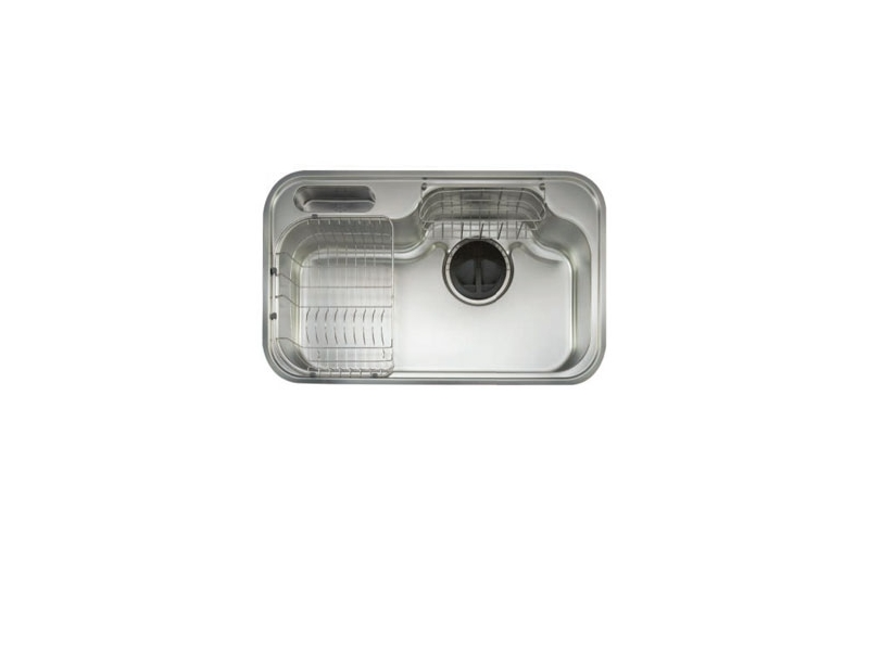 (YOYA)韓國頂級品牌CONI☆PDS840單口不鏽鋼防蟑導流水槽☆0983375500