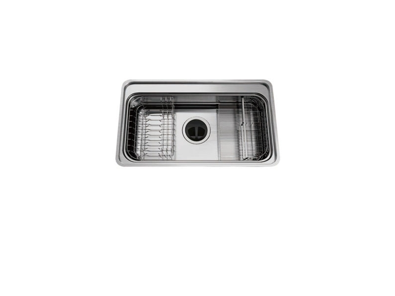 (YOYA)韓國頂級品牌CONI☆3D900☆單口不鏽鋼防蟑防臭水槽0983375500