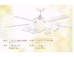 (YOYA)QF-02698W 56吋藝術吊扇杏仁白附微電腦定時遙控器0983375500