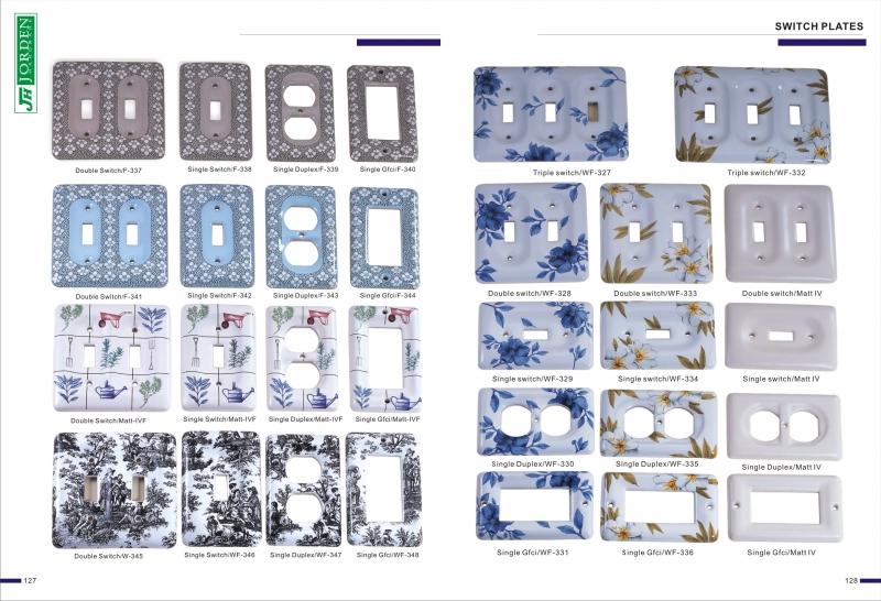 家具陶瓷配件拉手 & 陶瓷開關板