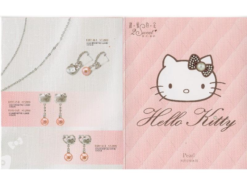 甜蜜約定Hello kitty商品~天然珍珠系列!!!