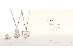 最卡哇伊Hello kitty 天然彩色寶石系列新產品登場嚕~~歡迎蒞臨金藝術銀樓選購^^