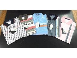 台灣製造 商務绅士 翻领冰涼絲光棉 短 POLO 衫