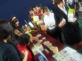 福品創意食品在台中市政府展示成果