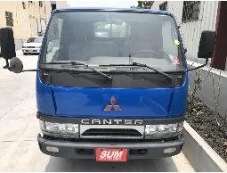 三隻小豬車坊 實車實價 2006年 藍色 中華 三菱 堅達貨車 六輪